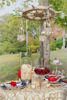nautical wedding ideas