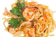 One-Pot Sesame Shrimp and Noodles