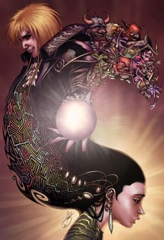 Gorgeous Labyrinth artwork. I seriously want a poster of this please.