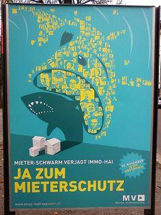 Swiss Poster Design by  Schweizer Plakate