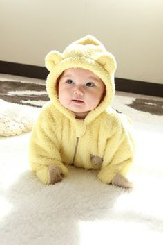 Baby baer animal suit あったかくまさんの着ぐるみ http://www.babygoose.jp/fs/babygoose/a-1531 #baby #family #mom #dad