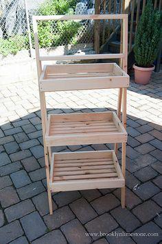 Farmers Market Garden Stand DIY | www.brooklynlimestone.com