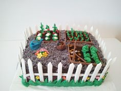 Torta zelenjavni vrt / Vegetable garden cake