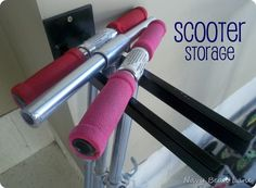 Scooter Storage. YES!!!