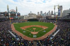 Comerica Park - Home to the Detroit Tigers