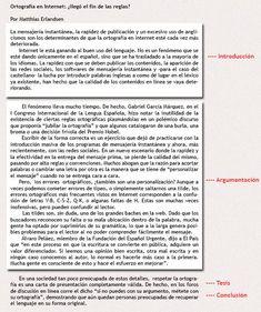 9 Ideas De Argumetacion Texto Argumentativo Tipos De Texto Comentario De Texto