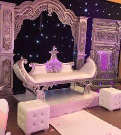 Décoration de mariage Bollywood Argent - Espace Evénement Nord
