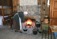 Cooking and Heating, Colonial Hearth! My Life at Michilimackinac: Confessions of a Costumed Interpreter | Found Michigan