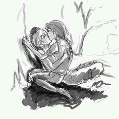 Peeta: You love me. Real or not real? Katniss: Real