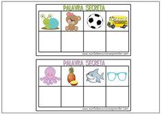 Jogo pedagógico para trabalhar a identificação da letra inicial e exercitar a leitura.   Dica: Imprima em papel cartão...