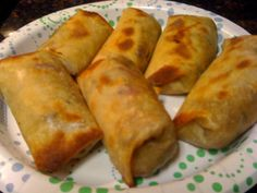 Baked Vegetable Egg Rolls (w/Pics) - 73 calories each! | MyFitnessPal.com