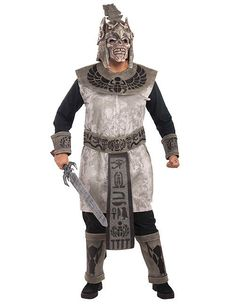 Click Image Above To Buy: Egyptian Skull Warrior Costume - Scary Costumes Cosplay Costumes For Men, Scary Costumes, Adult Costumes, Costumes For Women, Costume Ideas, Costume Halloween, Joker Costume, Adult Halloween, Halloween Makeup