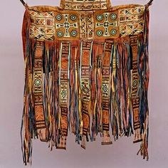 Tuareg camel bag from Niger