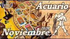ACUARIO - NOVIEMBRE 2020: La Prosperidad y el Éxito Llegarán, Está Emerg... Tarot, Aquarium, November, Tarot Cards