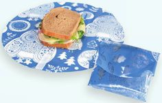 How to Use the Norwex Out to Lunch Sandwich Wrap: Great for every day use at school or the office, to take on picnics, or bring with you in the car for on-the-go lunch and snacks. Use the Sandwich Wrap as a portable placemat—it provides a clean eating surface every time Clean up is easy. Just shake the crumbs off into the trash, wipe with a damp cloth and air dry. Great for kids' art projects—protect surfaces from messy spills.