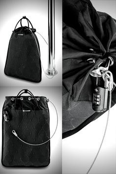 The TravelSafe 12L GII by Pacsafe secures laptops, cameras, documents etc. in mobile environments. Simply place your camera gear, laptop, iPad, documents or other valuables into the TravelSafe 12L GII portable safe, and secure the travelsafe bag to an item which cannot be carried away! Use in hotels, at pools, in cars, in offices, dorms and home - it is sized to secure laptops and other larger items.