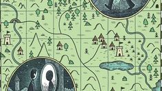 Most maps are directional tools, but some are their own destination, like this fun narrative-driven map from the New Yorker.