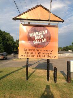 Michigan beer cellar. Sparta Mi Sparta Michigan, Beer Cellar, Best Beer, Distillery, Things To Do, Canning, Drinks, Things To Make, Drinking