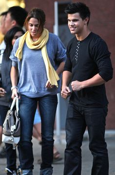 Taylor Lautner & Nikki Reed