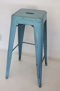 VIntage Tolix Marais Industrial Stool by owsupply on Etsy, $350.00