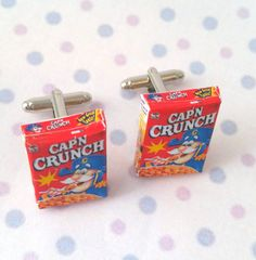 Hey, I found this really awesome Etsy listing at https://www.etsy.com/listing/222226457/miniature-capn-crunch-cereals-cufflinks