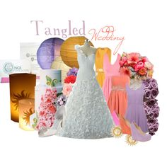 """""""Tangled Wedding"""" by jami1990 on Polyvore"""