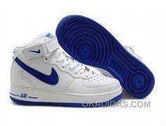 http://www.okadidas.com/nike-air-ce-1-mid-sneakers-blue-white-for-sale.html NIKE AIR CE 1 MID SNEAKERS BLUE WHITE FOR SALE : $54.49
