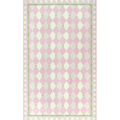 Found it at Wayfair - Hand-Hooked Pink Kids Rug