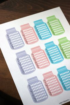 Yay for free planner printables! Enjoy these free ECLP stickers and stay hydrated this summer.