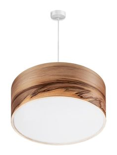 Pendant Lamp - Hanging Chandelier - Dining Room Lighting - Satin Walnut - SVEN  This unique lamp is from our Scandinavian style Sven line of lamps, it will provide a fantastic and relaxing ambience to unwind around a dinner table under. SVEN lamp shades are created with a satin walnut veneer, hand selected for its beautiful grain. The light filters through this beautiful walnut to create an incredible variety of intricacies. Nature is a wonderful canvas.  The walnut veneer is carefully…