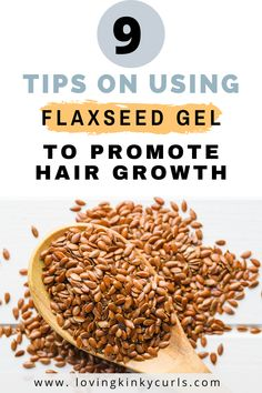 Flaxseed gel has several benefits on hair. The gel is rich in fatty acids, vitamins, minerals and Lignin which nourish the hair and promote growth. The fatty acids in flaxseed gel is responsible for moisturizing the hair. Herbs For Hair Growth, Natural Hair Growth Tips, Natural Hair Care, Natural Hair Styles, Natural Skin, Black Hair Treatment, Hair Growth Treatment, Ayurvedic Hair Care, Ayurvedic Herbs