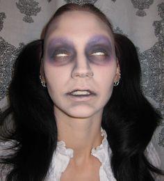 glitter halloween makeup looks - Google Search