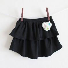 upcycled t shirt skirt