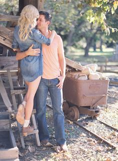 @Charla Malmberg Corn but you have cowboy boots on, would  be a cute engagement pic :)