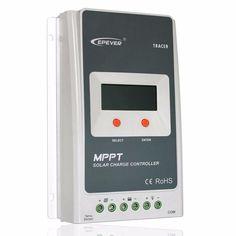 30A EPSOLAR MPPT Solar Panel Battery Regulator Charge Controller 12/24V Auto #Affiliate