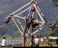 Aka redneck murder machine haha 15 Hilarious Redneck Inventions Useless Inventions, Funny Inventions, Best Funny Images, Funny Pictures, Funniest Pictures, Funny Pics, Redneck Humor, Outdoor Playground, Rednecks