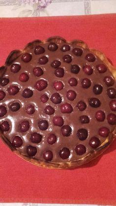 Tarta de cacao si cirese!