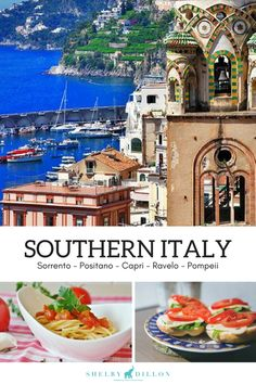 Your inside scoop on Southern Italy. All the must-see places in Italy including Sorrento, Positano, Capri, Ravelo and Pompeii. Learn more about Italian travel and product inspiration at shelbydillonstudio.com.