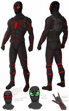 Spiderman Suits, Spiderman Costume, Spiderman Art, Amazing Spiderman, Spiderman Drawing, Comic Book Characters, Marvel Characters, Comic Character, Comic Books Art