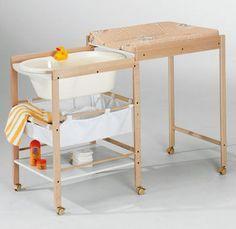 Cambiador para bebés (con bañera) HANNA Geuther