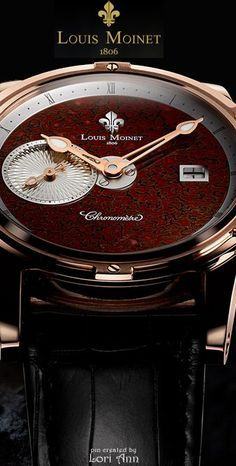 Louis Moinet Jurassic Watch - Limited Edition of 12 Just stunning Amazing Watches, Beautiful Watches, Cool Watches, Expensive Watches, Fine Watches, Women's Watches, Hand Watch, Bracelet Cuir, Mode Masculine