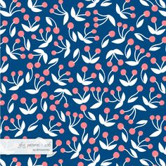 berries #pattern #surfacedesign #365 #365patterns #art #mzwonko
