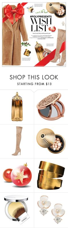 """""""#PolyPresents: Wish List"""" by yoa316 ❤ liked on Polyvore featuring Thierry Mugler, Miss Selfridge, Kendall + Kylie, Sephora Collection, Hervé Van Der Straeten, Clinique, Kate Spade, contestentry and polyPresents"""