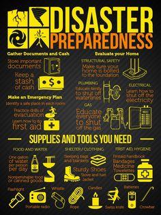 Disaster Preparedness | Survival Prepping Ideas, Survival Gear, Skills & Emergency Preparedness Tips - Survival Life Blog: http://survivallife.com #survivallife #survival #prepping #emergencypreparedness