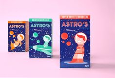 Astro's (Student Project) on Packaging of the World - Creative Package Design GalleryDesigner: Nathan Nankervis Project Type: Student Project  School: Swinburne University  Location: Melbourne, Australia -