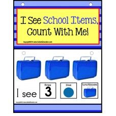Build A Sentence with Pictures Interactive - SCHOOL ITEMS   Forming sentences for our young learners or those with autism, can be challenging. Using real-life pictures for easy recognition of common objects, students love learning to read and form sentences. Practice counting skills up to 10 and sight word practice is an added bonus! - See more at: http://autismeducators.com/Autism---Build-A-Sentence-with-Pictures-Interactive---SCHOOL-ITEMS-AutismEducators#sthash.Z15ceHNF.dpuf