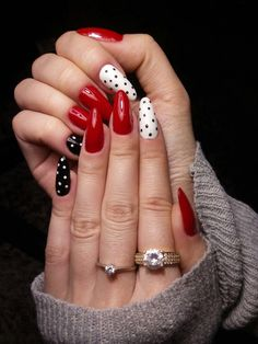 Stylish Nails, Trendy Nails, Hot Nails, Hair And Nails, Diva Nails, Manicure Y Pedicure, Nagel Gel, Perfect Nails, Winter Nails