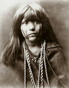 Mojave Indian Girl by Edwin Curtis (Historical Photos of Old America)
