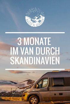 3 Monate Im Van Durch Skandinavien - Rentiere, Nordlichter & Luftgitarren | Movin'n'Groovin Roadtrip Europa, Bus Camper, Lofoten, How To Do Yoga, Outdoor Travel, Van Life, Blog, Reindeer, Norway