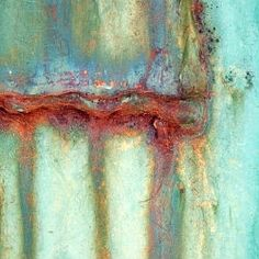 Oxidation in Turquoise by Janet Little Jeffers